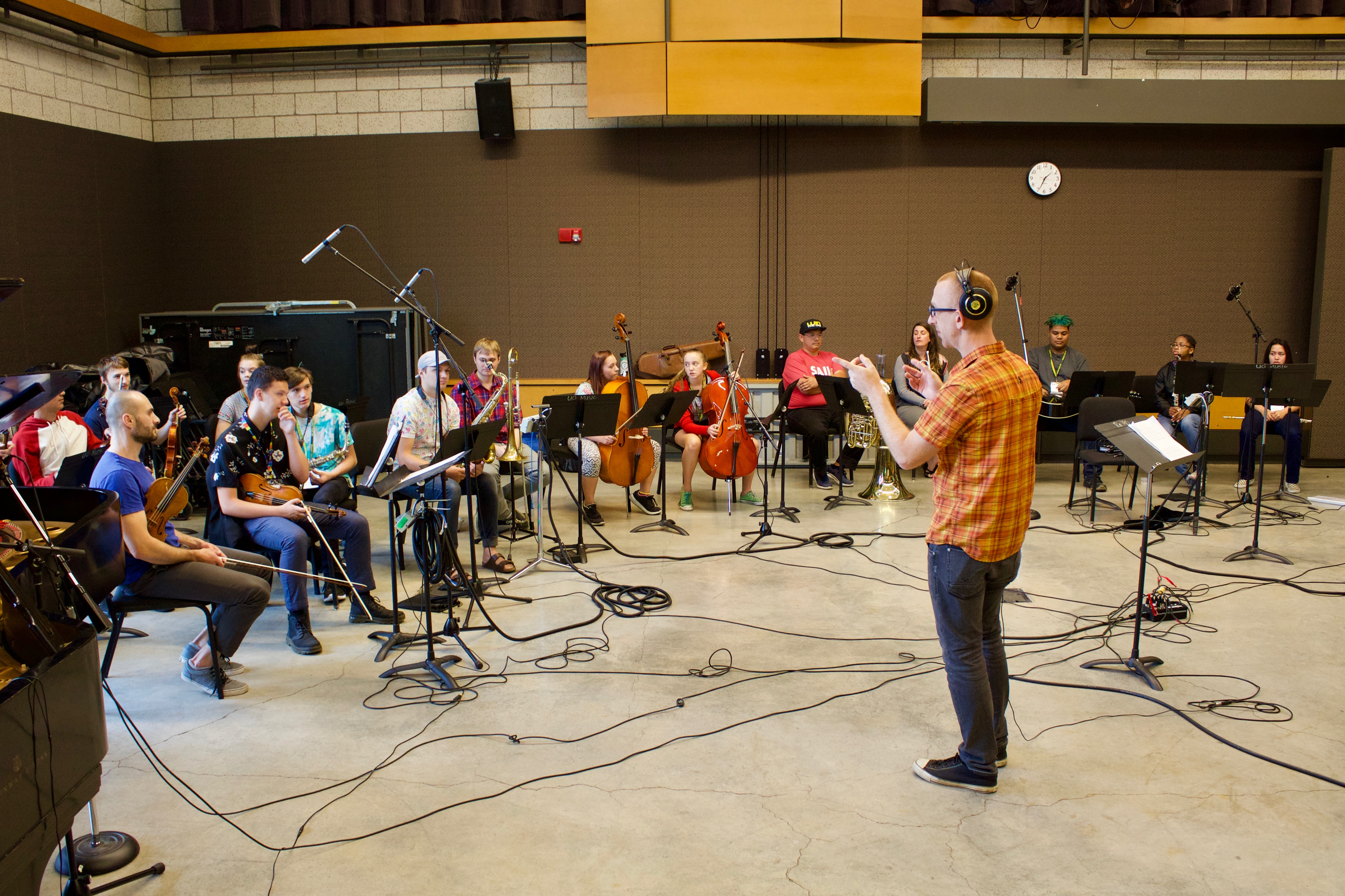 SAIL ON – Orchestra Next's Recording Camp 2018